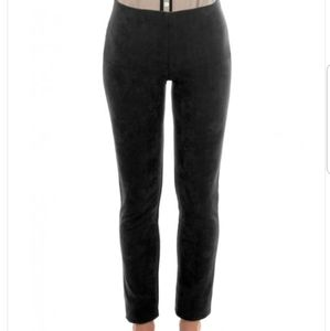 GripeLess pull on suede pant